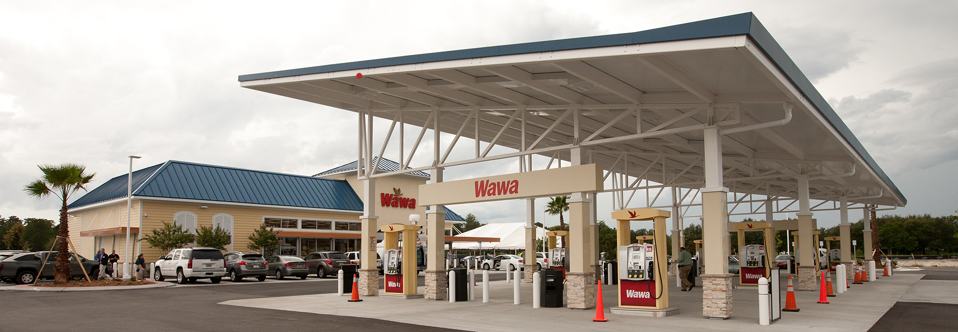 Circle K Gas Prices >> How Wawa's Canopy Took Wing