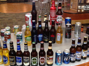 Anheuser-busch beer collection