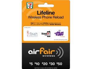 Airfair InComm Ready Wireless 7-Eleven