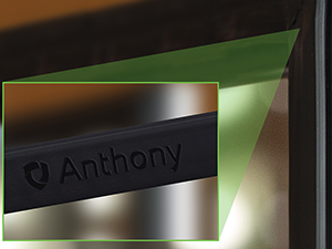 Anthony cooler door gasket