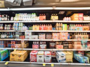 beer aisle