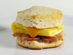 grab and go breakfast sandwich