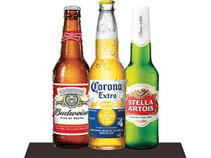 Budweiser Corona Stella Artois