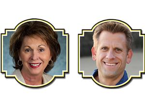 Jenny Bullard, CIO, Flash Foods, John Brenkus, CEO/director, BASE Productions