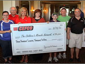 Cefco charity check