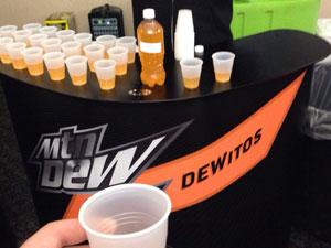 Dewitos Mountain Dew Doritos (CSP Daily News / Covenience Stores / Snacks / Beverages)