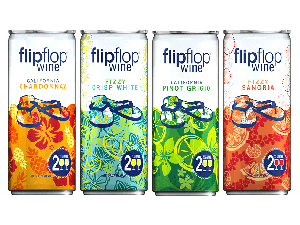 Flipflop wines in 250-ml cans