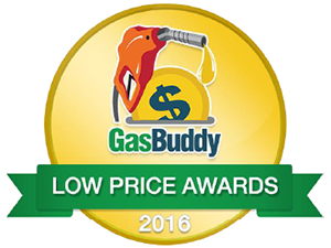 GasBuddy Low Price Awards