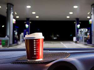 gas station coffee