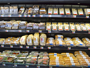 grab and go section