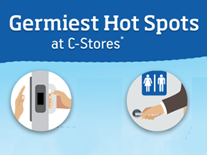 grimiest spots in a convenience store