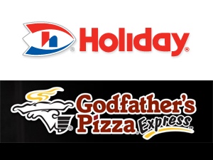 Holiday Stationstores, Godfather's Pizza