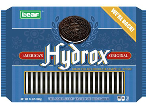 Oreos rival Hydrox (CSP Daily News / Convenience Stores / Snacks & Candy)