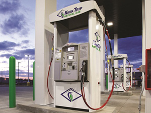 Kwik Trip compressed natural gas CNG (CSP Daily News / Convenience Stores / Gas Stations)