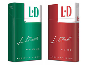 Japan Tobacco's LD cigarettes
