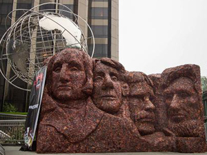 Jack Link's Unveils 'Meat Rushmore' (Video)
