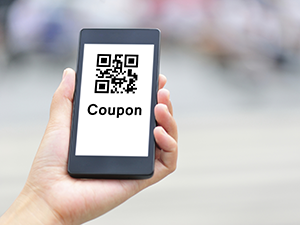 mobile phone coupon