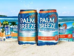 Mike's Hard Lemonade's new Palm Breeze flavored malt beverages