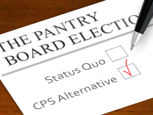 The Pantry board election