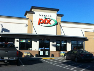 Supermarket chain sells its 14 small-format stores--PIX--in departure from convenience store channel