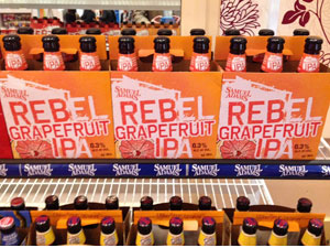 Rebel Grapefruit IPA beer