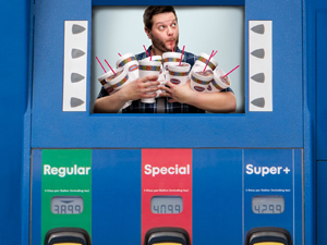 Ricker Convenience Stores TV in the Pump