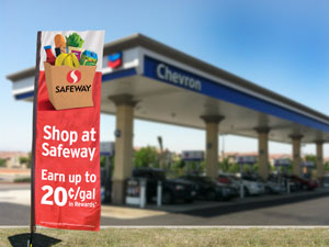 Albertsons Safeway Chevron loyalty rewards