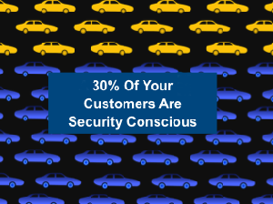 30% of gasoline buyers are security conscious