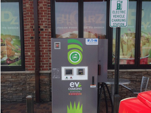 Sheetz electric vehicle EV charging station (CSP Daily News / Convenience Stores / Gas Stations)