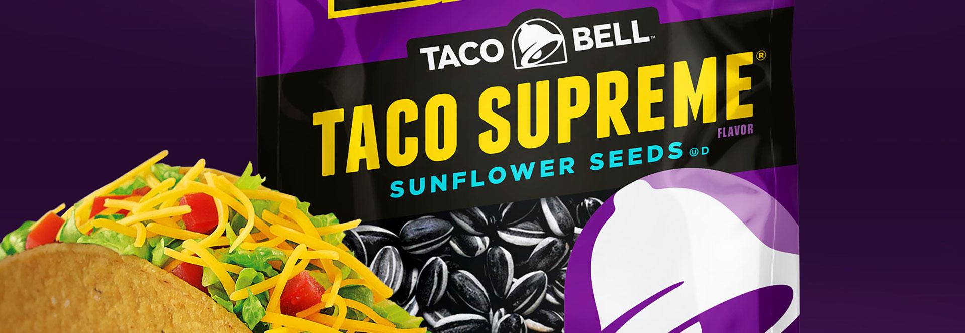 Taco Bell-Inspired Sunflower Seeds to Hit Shelves