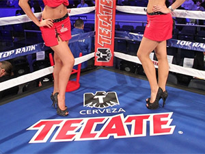 Tecate boxing promotion