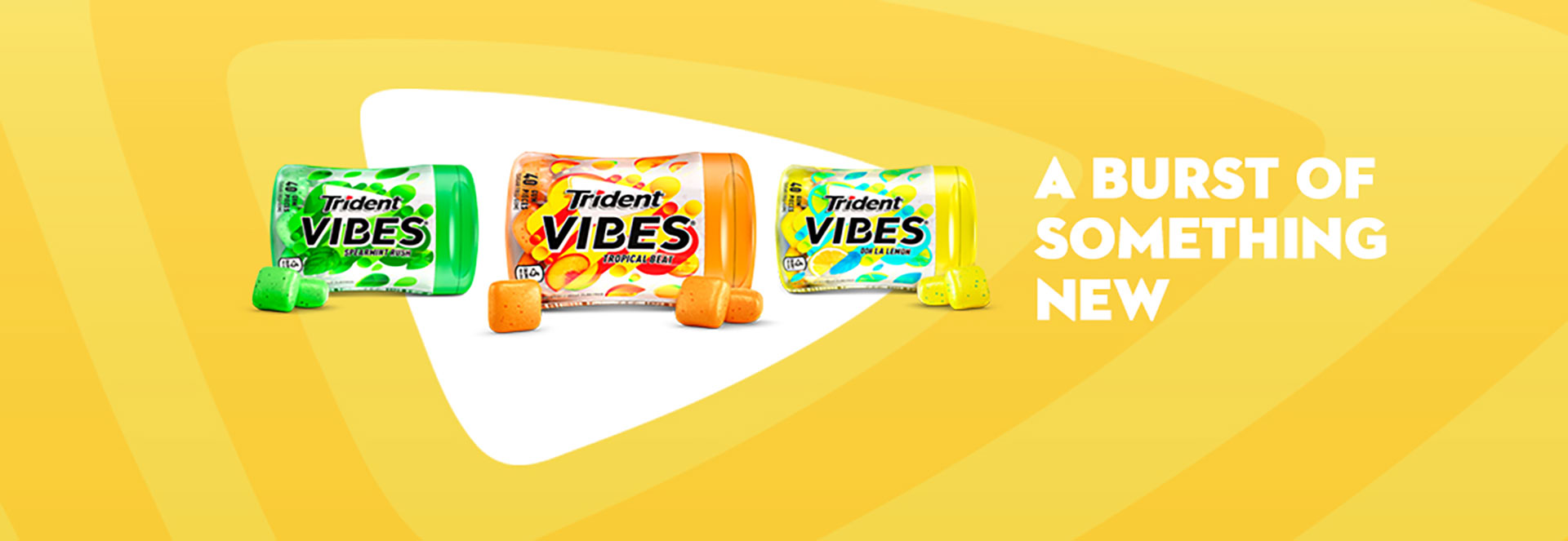 Trident Gum Gets a New 'Vibe'