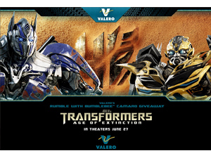Valero Transfornwers: Age of Extinction (CSP Daily News / Convenience Stores / Gas Stations)