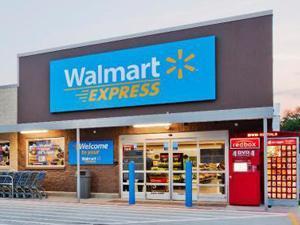 Walmart Express store
