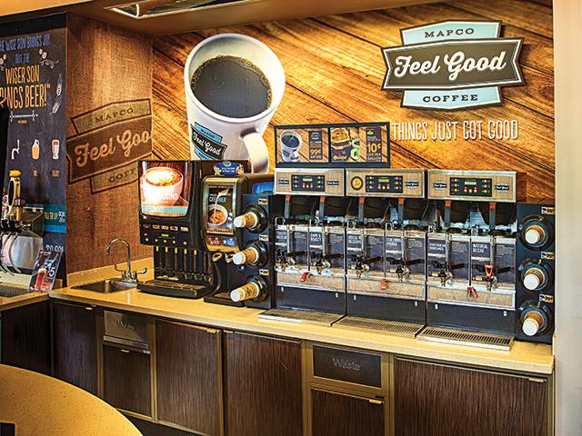 Mapco convenience stores' Gilbarco Veeder-Root's Odysii Impulse