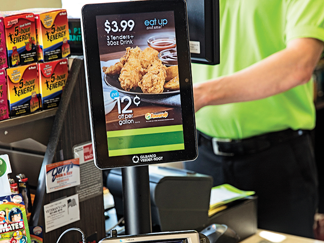 Mapco convenience stores' PayPal mobile payment app
