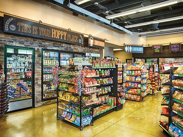 Mapco convenience stores' Good Liivn' private-label snacks
