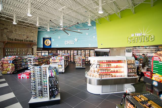 Alon Brands 7-Eleven convenience store Service Counter