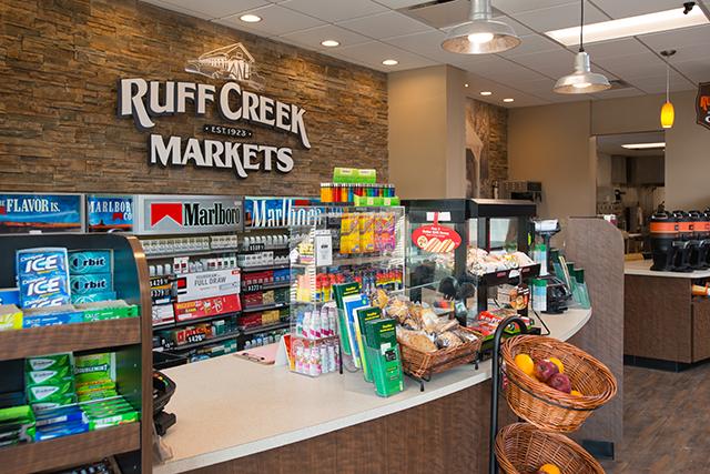 Ruff Creek convenience store soda fountain