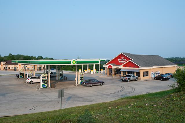 Ruff Creek convenience store open-air cooler