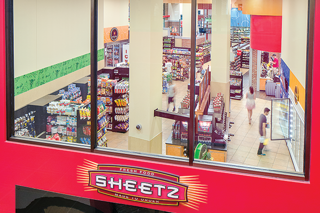Sheetz U Place Convenience Store Foodservice Sketch