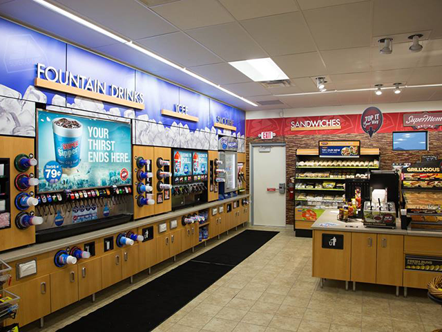 SuperAmerica convenience store cold vault