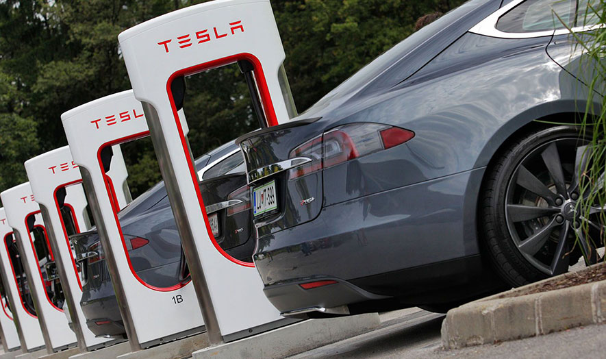 6 Retailers Working With Tesla on EV Charging Stations