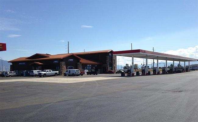 Town pump convenience stores