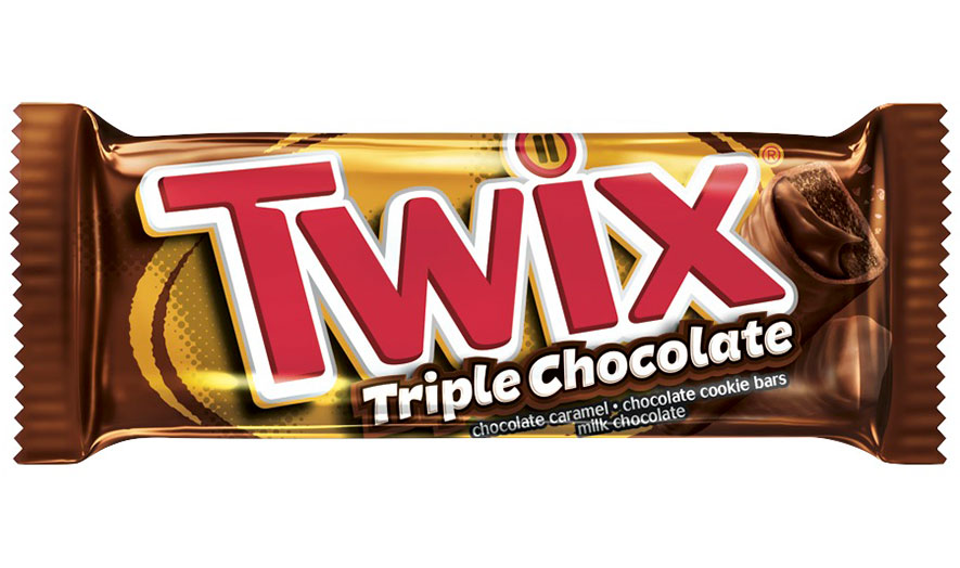 twix triple chocolate bar