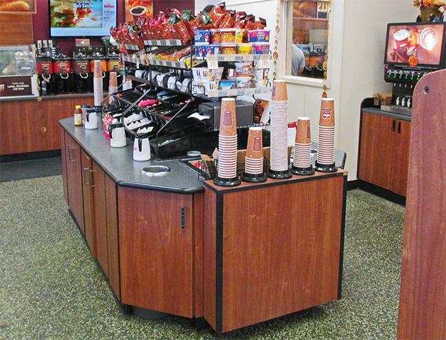 Wawa convenience store new coffee bar