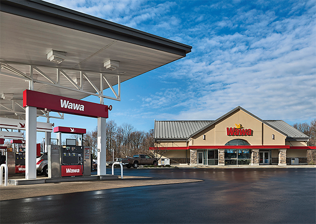 Wawa convenience store old foodservice area