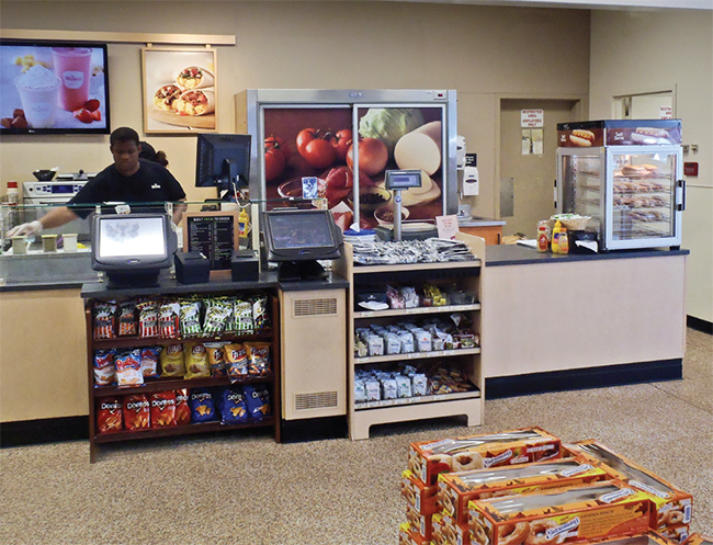 Wawa convenience store new foodservice area
