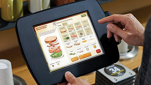customer tablet