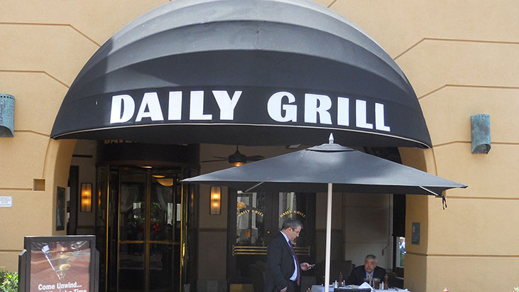 daily grill exterior